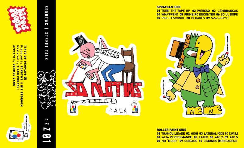 """O produtor Jundiaiense SonoTWS acaba de lançar sua nova tape, """"Street Talk""""."""