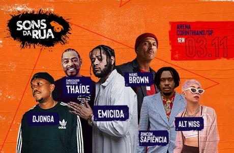 Vem aí a 3ª edição do SONS DA RUA: o evento urbano de maior destaque no cenário do Hip Hop