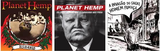 Finalmente a discografia do Planet Hemp chega às plataformas digitais!
